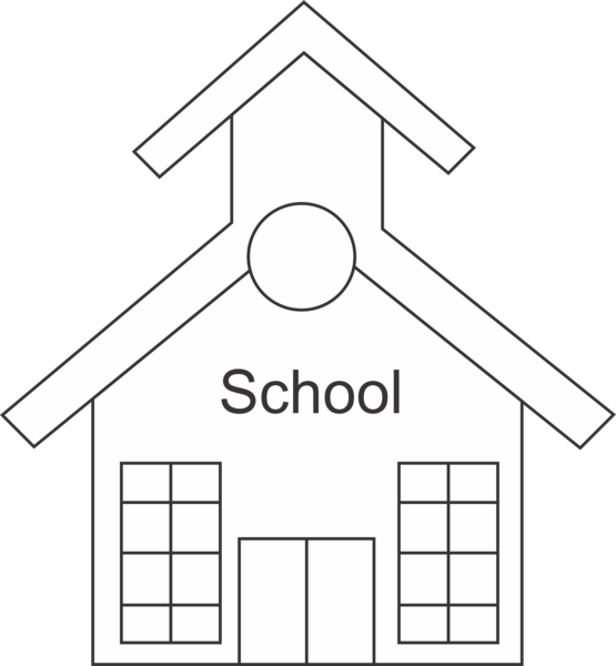 school building coloring pages - photo#31