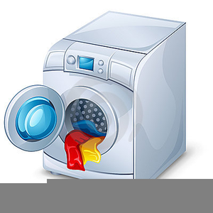Free Clipart Washing Machines Image