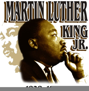 Free Clipart Of Martin Luther King Jr