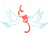 Two Doves Clipart Free Image