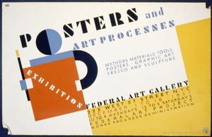 Posters And Art Processes Methods Materials Tools: Posters - Graphic Art Fresco And Sculpture. Image