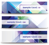 Abstract Diagonal Banners Image