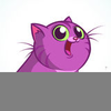 Cute Halloween Cat Clipart Image