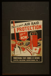 This Is Your Air Raid Protection Get It Now / Zj. Image