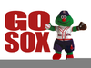 Free Red Sox Clipart Image
