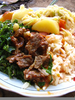 Kenyan Food Dishes Image