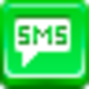Free Green Button Sms Image