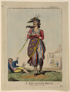 A Republican Belle - A Picture Of Paris For 1794  / Ic. Image