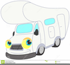 Camping Trailer Clipart Image