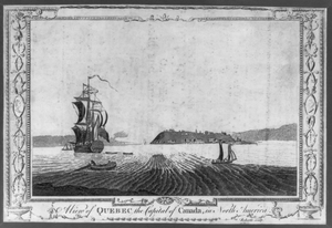 A View Of Quebec The Capital Of Canada, In North America  / Roberts Sculp. Image