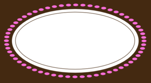Rectang Choco Pink Clip Art