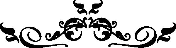 Swirl Black Filigree Clip Art At Clkercom Vector Online