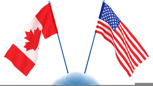 Canada Usa Flag Clipart | Free Images at Clker com - vector