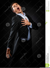 Black Man Singing Clipart Image