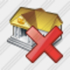 Icon Bank Delete Image