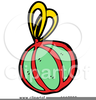 Christmas Ornaments Clipart Free Image