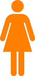 Aiga Female Orange Clip Art