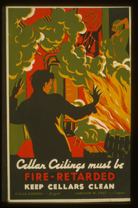 Cellar Ceilings Must Be Fire-retarded Keep Cellars Clean / Mw [monogram]. Image