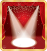 Free Stage Curtains Clipart Image