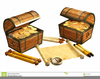 Pirate Treasure Chest Clipart Free Image
