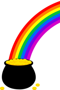 Pot Of Gold Coins Image