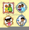 African American Family Clipart Pictures Image