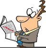 Stock Market Crash Clipart Image