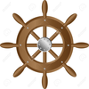 Clipart Of Ship Wheel Image