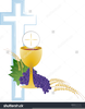 Eucharist And Chalice Clipart Image
