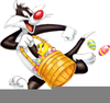 Easter Looney Toons Clipart Image