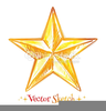 Abstract Star Clipart Image