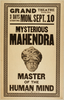 Mysterious Mahendra Master Of The Human Mind. Image