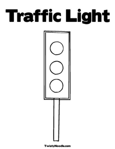Traffic Light Coloring Page Jpg X Q Image