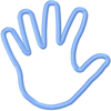 Outline Of Hand Clipart Image