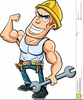 Animated Plumber Clipart Image
