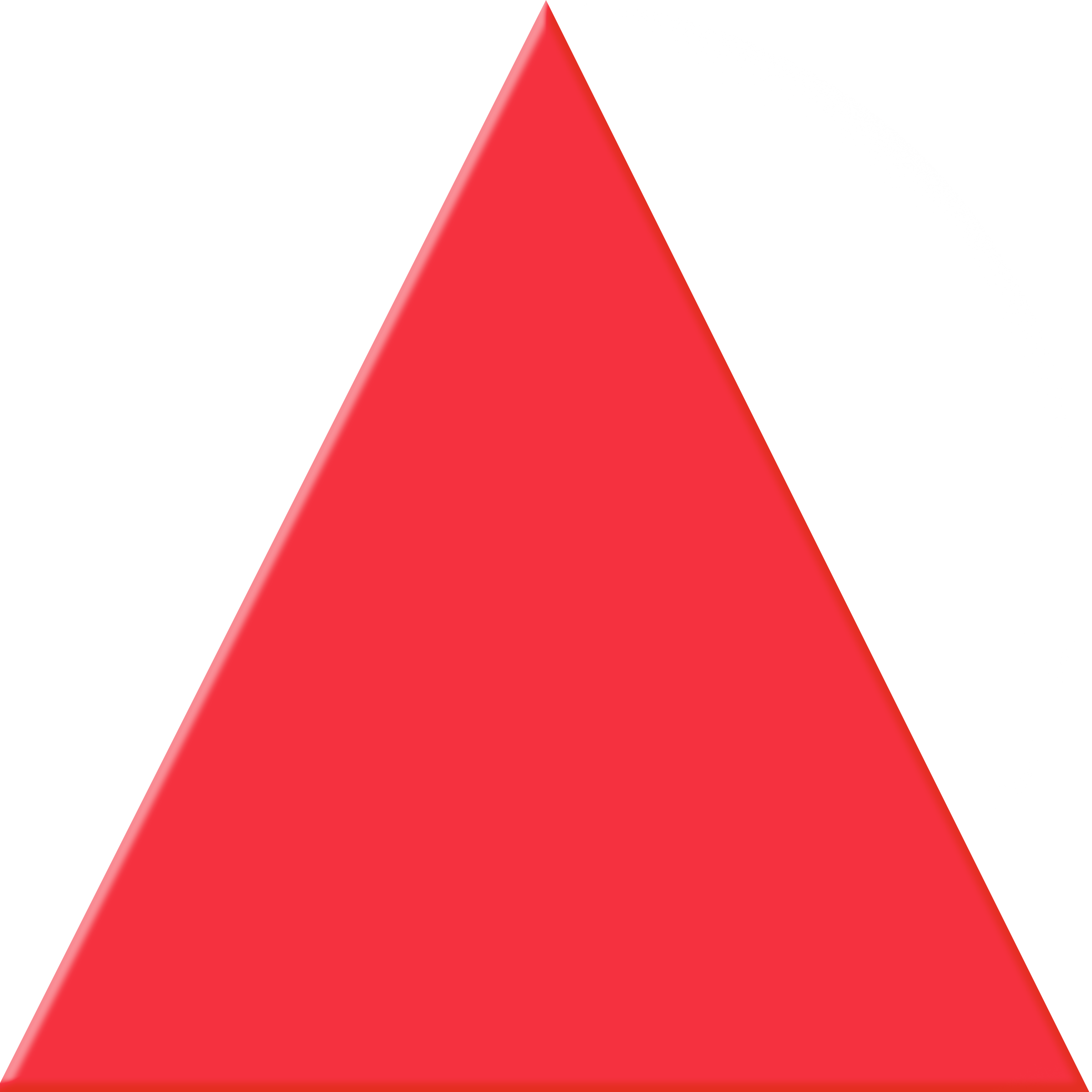 red triangle clip art pictures to pin on pinterest pinsdaddy