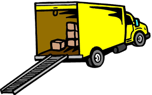 clipart moving truck free images at clker com vector clip art rh clker com moving truck clipart black and white