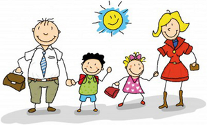 Christian children with cross Clip Art   k47558598   Fotosearch