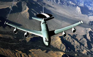E-3 Aircraft Conducts A Mission Over Afghanistan Image