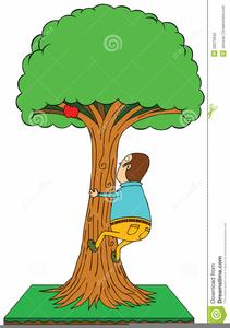 Clipart Boy Climbing Tree Free Images At Clker Com Vector Clip