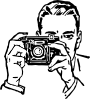 Man With A Camera Clip Art