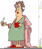 Clipart Funny Old Women Image