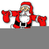 Father Christmas Animated Clipart Image