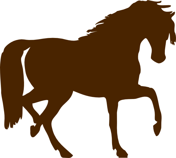 Horse brown. Clip art at clker
