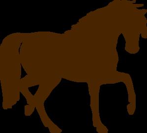 brown horse clip art at clker com vector clip art online royalty rh clker com horse clipart black and white horse clip art free images