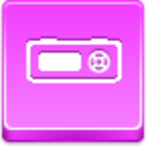 Free Pink Button Mp Player Image