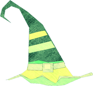 Green Witch Hat Image