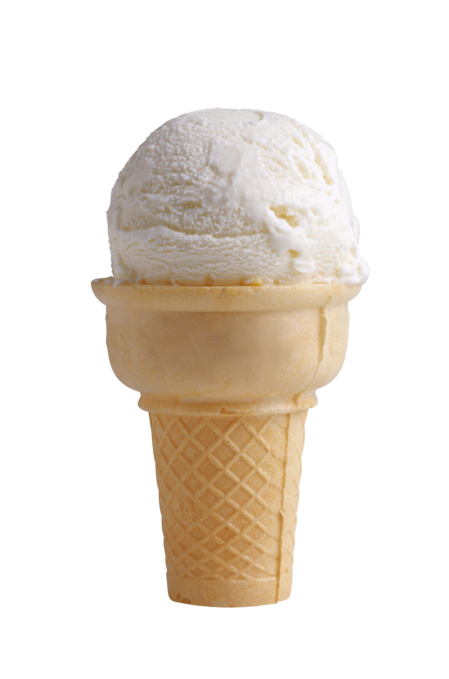 Ice Cream Cone Vanilla | Free Images at Clker.com - vector ...