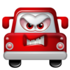 Auto Angry Icon Image