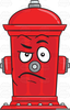 Red Fire Hydrant Clipart Image